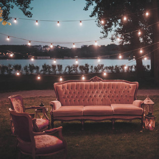 Relaxed seating area