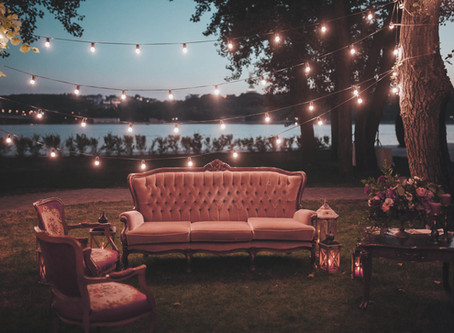 Wedding Reception Lounge Seating