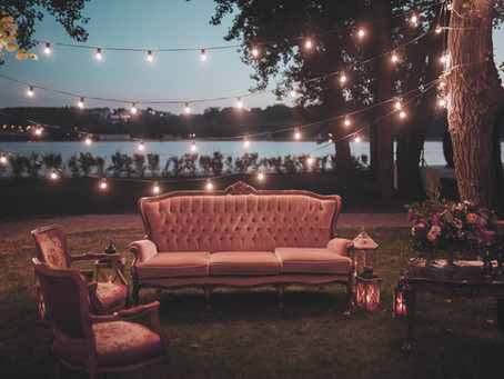 Wedding Reception Lounge Seating