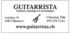 Parrain Guitarrista les RencontresGuitares de Bulle