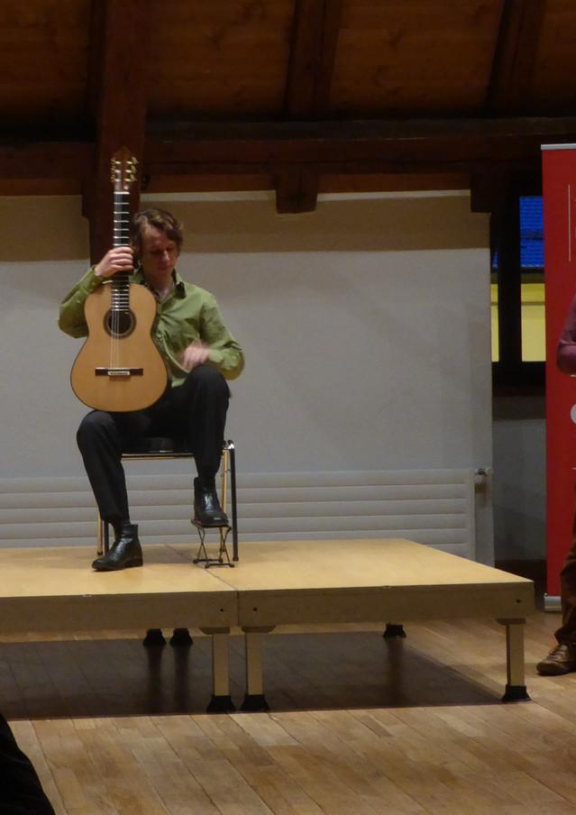 Dieter Hillewaere (luthier) & Marwan Hemma (1ère partie)