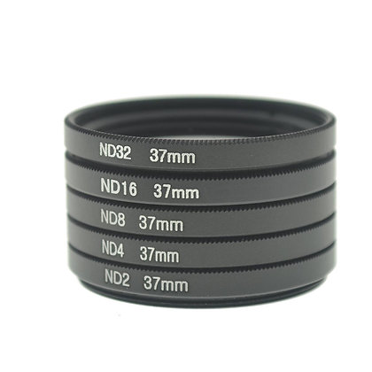 SLR Pro 37mm Thread Neutral Density Filters Lens Set (5 Pieces)