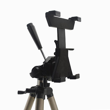 Holder / Mount / Bracket for fitting Tablets(e.g. iPad) directly on a Tripod