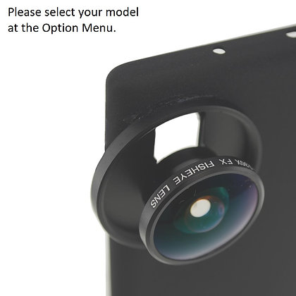 FULL FRAME FX Fisheye Lens for Samsung Galaxy Note 20, S20, S10 Smartphones
