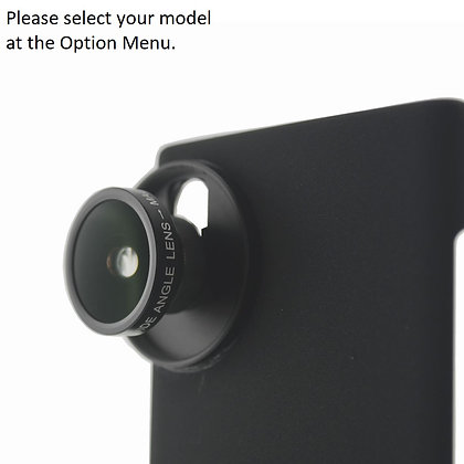 Ultra Wide Angle (+Macro) Lens for Samsung Galaxy Note 20, S20, S10 Smartphones