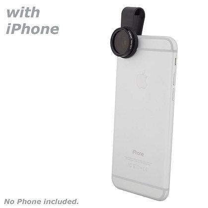 Quick-Clip Circular Polarizing Lens Filter (CPL)for Smartphones / iPhone