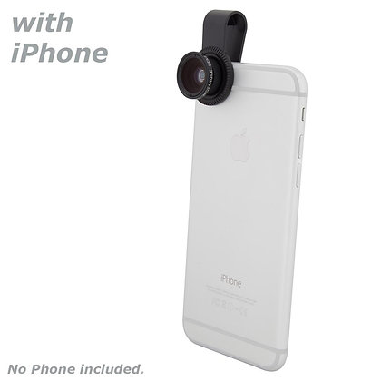 Quick-Clip  Wide Angle Lens for Smartphones / iPhone