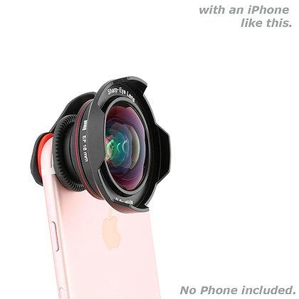 Quick Clip EF18mm Landscape Super Wide Angle Lens for Smartphones / iPhone