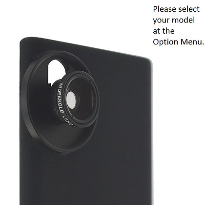 2-in-1 Wide Angle + Macro Lens for Samsung Galaxy Note 20, S20, S10 Smartphones