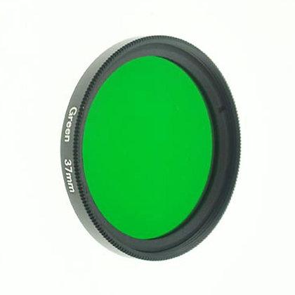37mm Thread #3 Solid Color Green Filter Lens