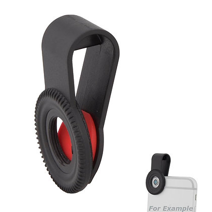 Quick-Clip Universal Rubber-Padded Clip for Smartphones