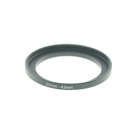 37-43mm Step Up Adapter Ring (37MM Thread Lens to 43mm Thread Step-Up Ring)