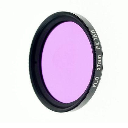 37mm FLD Filter Lens (Purple FL-D Filter Lens / Fluorescent Lighting Daylight