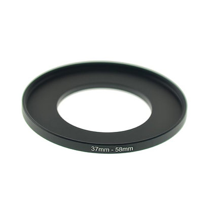 37-58mm Step-Up Adapter Ring (37MM Thread Lens to 58mm Thread Step-Up Ring)