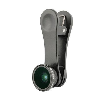 Long-Clip Fisheye Lens for iPhone & Smartphones