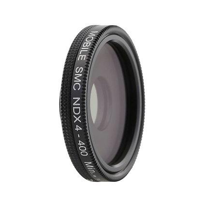 4-400 Adjustable Neutral Density Filter Lens for iPhone / Smartphones