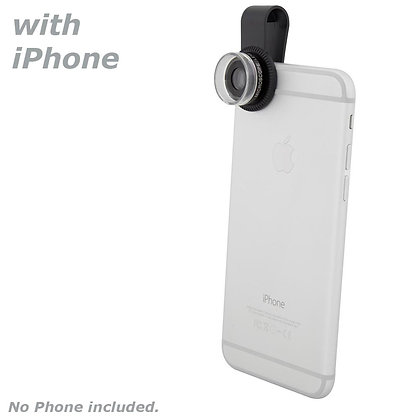 Quick-Clip 30X Microsope Lens / Magnifier 30X Zoom Lens for Smartphones / iPhone