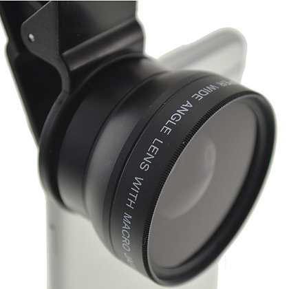 37mm Thread  Wide Angle Lens with Universal Clip for Smartphone Photography