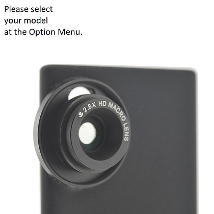 2.8X HD Macro Lens for Samsung Galaxy Note 20, S20, S10 Smartphones