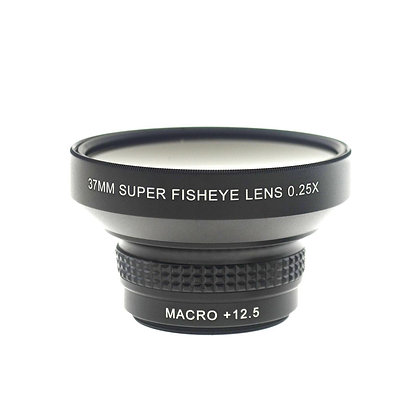 37mmThread 0.25X Super Fisheye Lens