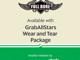 GRAB PITSTOP & Full Bore Motor Oil