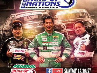 King of Nations Drift Championship/Asia Drift Pro Series @ Nikko Circuit Round Japan.