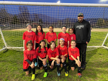 Announcing The New Spartans FC 2010 Girls Team!!