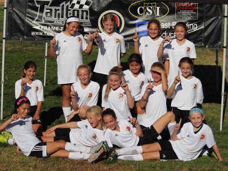 Congratulations to Spartans FC 2008G Team for winning the Coast Soccer League - Bronze Delta Divisio