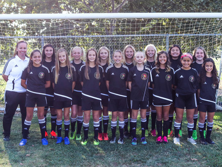 Congratulation to the Spartans FC Girls 08's for Advancing in State Cup to the round of 32!!!