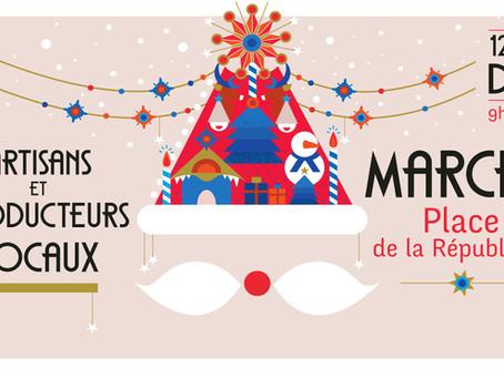 Retrouvez-nous au Marché de Noël de Limoges du 12 au 24 déc 2020 !