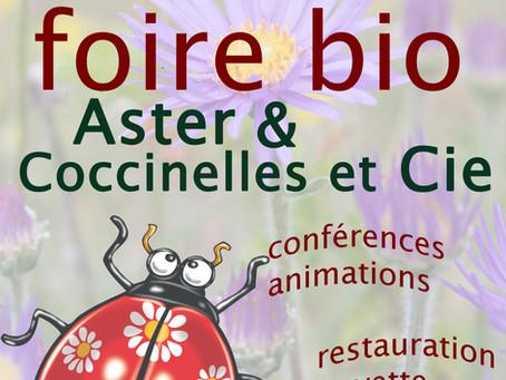 Foire bio Veyrac et coccinelle 7 octobre 2018