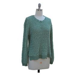 Popcorn Knit Sweater