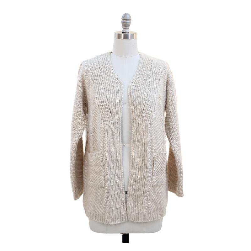 Pocket Sweater Coat