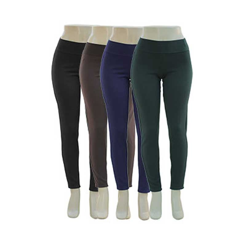 Ponte Knit Solid Leggings