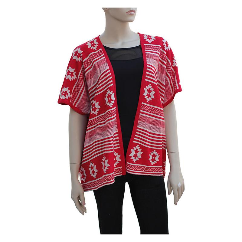 Tribal Pattern Cardigan