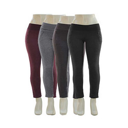 Quilted Zippered Leggings