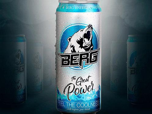 """Энергетический напиток """"Берг"""" 0.5"""