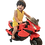 Thumbnail: ozra kids JAG-SAS Kid's Electric Rechargeable Ride-on Motorbike (Red, 2-4 Years