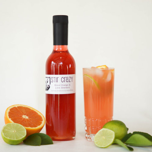 Stir Crazy Citrus Cordials