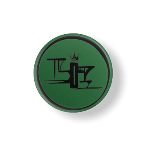 Green 1.5 x 1.5 Pin