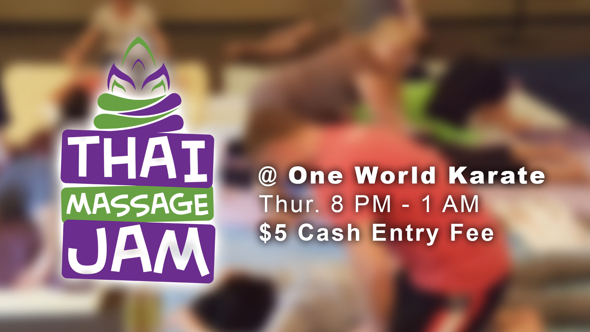 Thai Massage Jam Event Cover Photo