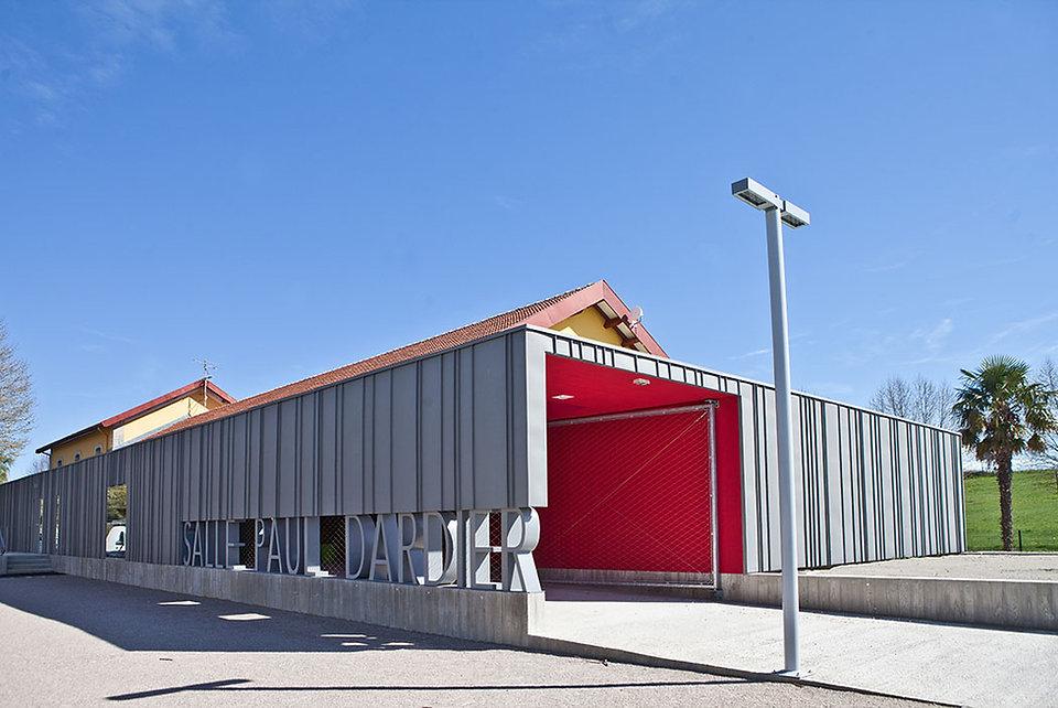 Salle Paul Dardier Mirepoix i Rinaldi & Levade Architectes