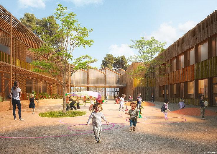 Kombo Architectes Groupe Scolaire Juvignac