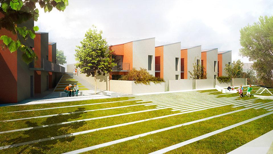 Logements sociaux Bénagues I Rinaldi & Levade Architectes