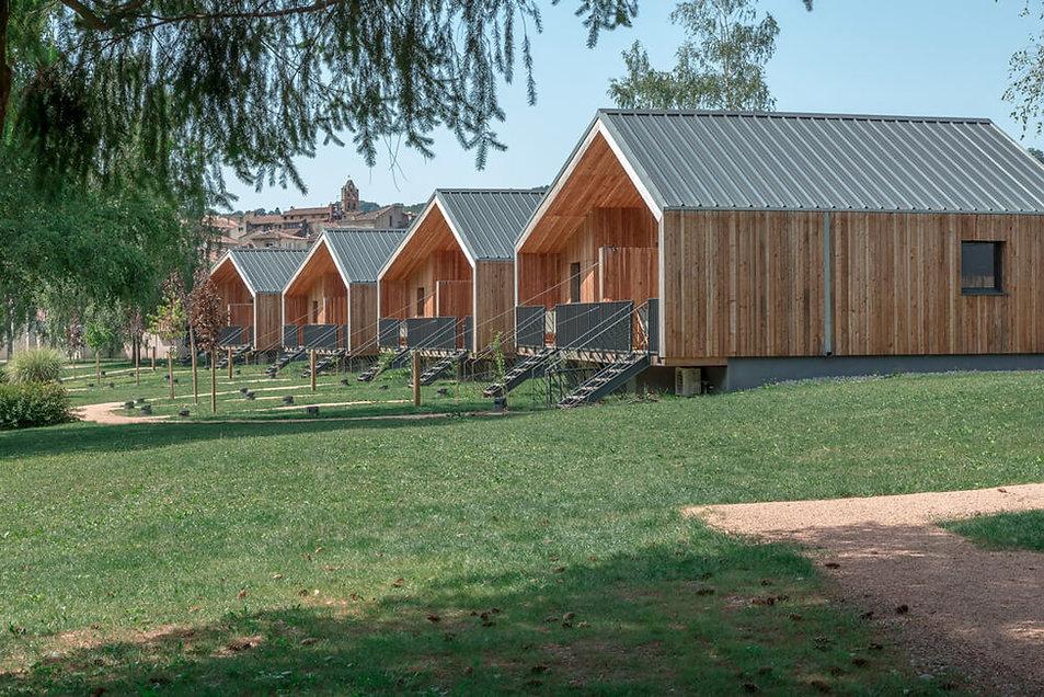 Village vacances La Bastide de Sérou - châlets bois