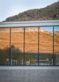 Cuisine Centrale Luzenac - vue exterieur cuisine - Rinaldi & Levade Architectes - architectes Ariège et Toulouse