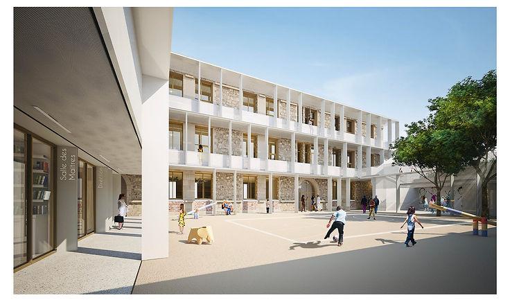 Ecole-Beaucaire-Kombo-Architectes