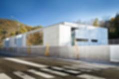 Cuisine Centrale Luzenac - vue ensemble - Rinaldi & Levade Architectes - architectes Ariège et Toulouse