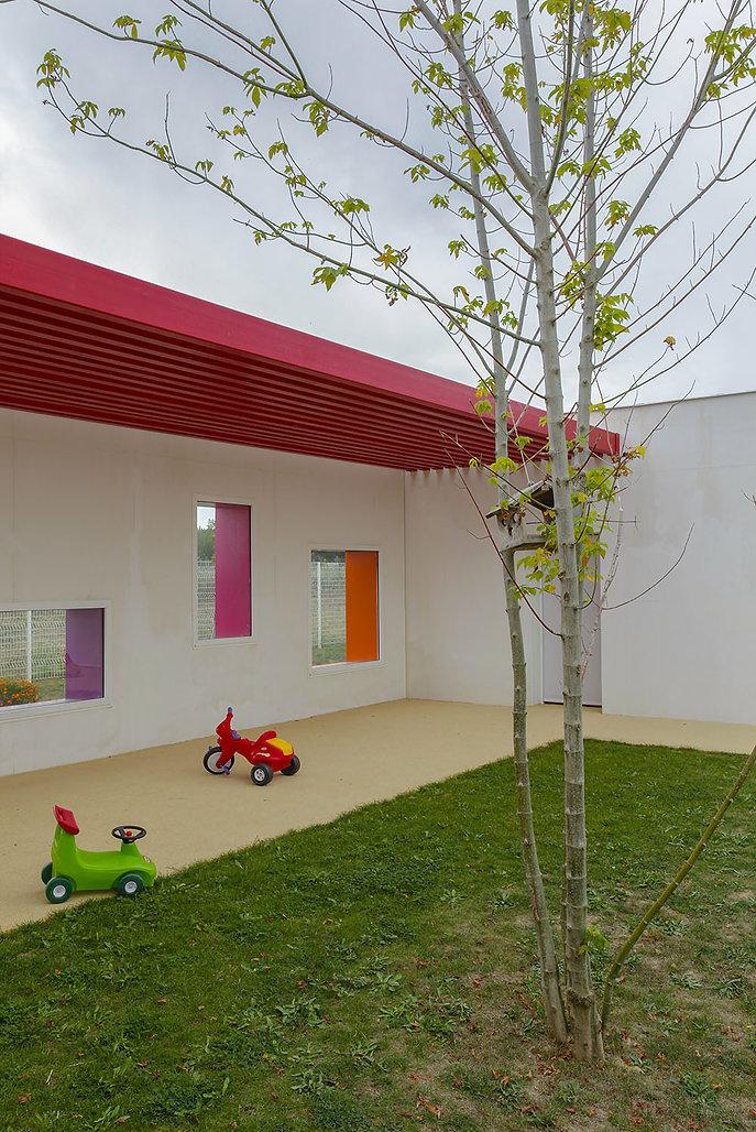 Crèche de Lherm I Rinaldi & Levade Architectes