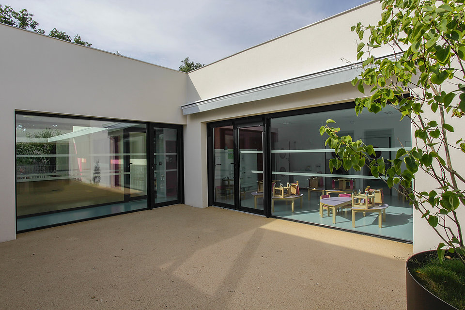 Crèche Cugnaux I Rinaldi & Levade Architectes